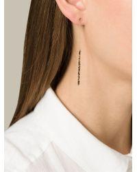By Boe - Metallic 'Chain' Earrings - Lyst