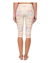 Mara Hoffman - Natural Cropped Leggings - Lyst