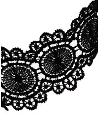 ASOS - Black Victoriana Lace Choker Necklace - Lyst