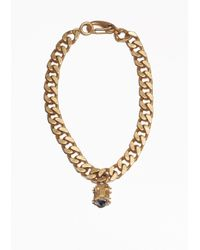 & Other Stories | Metallic Chain Necklace | Lyst