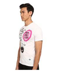 Vivienne Westwood | White Acorn T-shirt for Men | Lyst