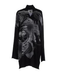 MM6 by Maison Martin Margiela - Black Sweater - Lyst