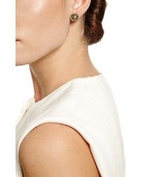 Kimberly Mcdonald - Green One Of A Kind Tourmaline and Diamond Stud Earrings - Lyst