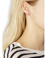 Maria Black - Metallic Klaxon Twirl Sterling Silver Earrings - Lyst