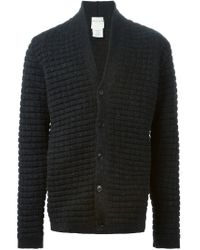 Stephan Schneider - Gray V-neck Cardigan for Men - Lyst