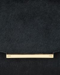 Ted Baker | Black Parallel Bars Exotic Handbag | Lyst