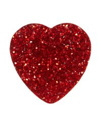 Tatty Devine | Red Glitter Heart Ring | Lyst