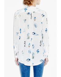 M.i.h Jeans - White Surf Shirt - Lyst
