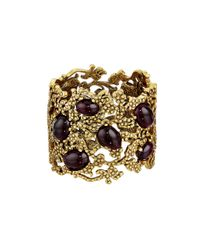 Oscar de la Renta | Metallic Filigree Bracelet | Lyst