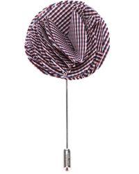 Lanvin | Purple Floral Lapel Pin for Men | Lyst