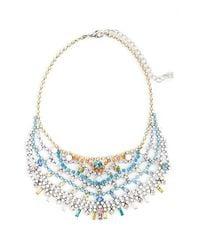DANNIJO - Multicolor 'steinem Ii' Bib Necklace - Crystal Multi/ Silver - Lyst