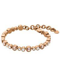 Dyrberg/Kern - Pink Dyrberg/kern Teresia Swarovski Crystal Bracelet - Lyst