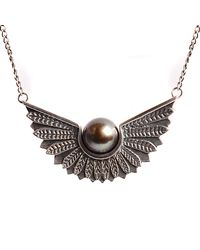 Lee Renee - Metallic Cathy Pearl Necklace - Lyst