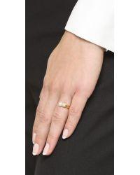Vita Fede - Metallic Eclipse Cubo Ring - Gold/pearl - Lyst