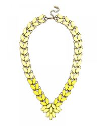BaubleBar | Marble Garland Brooch Collar-yellow | Lyst