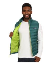 Patagonia | Green Down Sweater Vest for Men | Lyst