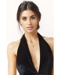Natalie B. Jewelry   Metallic Its Goin Down Necklace   Lyst