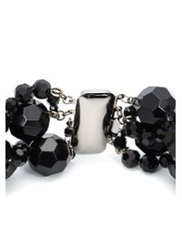 Simone Rocha - Black Crystal Necklace - Lyst