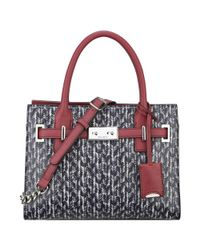 Nine West - Gray Internal Affairs Mini Tote - Lyst