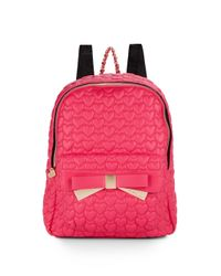 Betsey Johnson | Purple Be Mine 4 Ever Backpack | Lyst