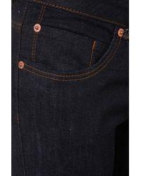 TOPSHOP | Blue Moto Indigo Baxter Jeans | Lyst