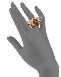 Stephen Webster | Metallic Diamond Doublet Spike Ring | Lyst