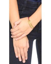 Marc By Marc Jacobs - Purple Standard Supply Hinge Cuff Bracelet - Garnet - Lyst
