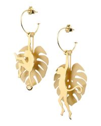 Loroetu | Metallic Earrings | Lyst