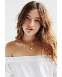 Jenny Bird | Metallic Watson Collar Necklace | Lyst