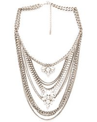 Lisa Freede - Metallic Kingsley Necklace - Lyst