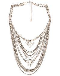 Lisa Freede | Metallic Kingsley Necklace | Lyst