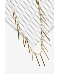Nasty Gal | Double Up Metallic Necklace | Lyst