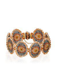 Miguel Ases | Brown Exclusive Topaz Quartz Bracelet | Lyst