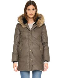 SOIA & KYO - Natural Benedicte Coat - Lyst