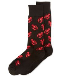 Hot Sox | Black Men's Lobsters Socks for Men | Lyst