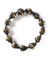 Shebee | Brown 'Greta' Bracelet | Lyst