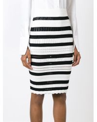 Alexander McQueen - Black Victorian Lace Skirt - Lyst