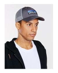 Patagonia - Gray P6 Low Profile Trucker Hat for Men - Lyst