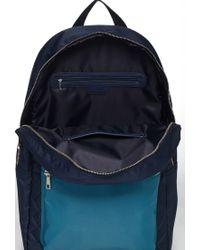 Forever 21 - Blue Men Colorblock Quilted Backpack for Men - Lyst
