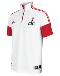 Adidas - White Men's Washington Wizards Game Time Shooting Shirt for Men - Lyst