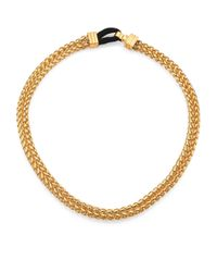 Elizabeth and James - Metallic Baltic Chain Necklace - Lyst