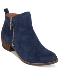 Lucky Brand | Blue Women's Basel Booties | Lyst
