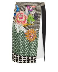 Etro - Multicolor Graphic Floral Print Skirt - Lyst