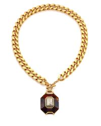 House of Lavande | Metallic Batari Pyrite Pendant Necklace | Lyst