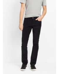 Vince - Blue Soho Slim Fit Cordoroy Trouser for Men - Lyst