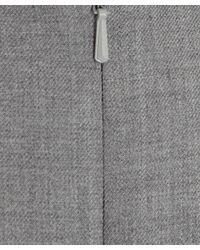 Paul Smith Black Label | Gray Light Grey Fitted Work Dress | Lyst