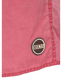 Colmar | Pink Cotton & Nylon Blend Swimming Shorts for Men | Lyst