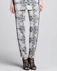 J Brand - Black Griswold Printed Straightleg Pants 6 for Men - Lyst