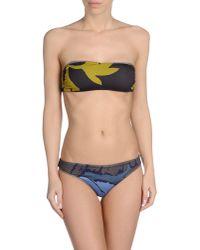 Bini Como - Brown Bikini - Lyst