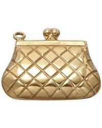 Annina Vogel | Metallic Vintage Gold Purse Charm | Lyst